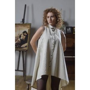 """Плаття-сорочка з конопель """"Аліса"""""""