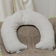 Подушка-підголовник з гречаним лушпинням