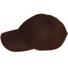 Hemp cap maroon