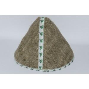 Конопляна шапка для сауни