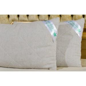 Гіпоаллергенна подушка 0,40 х 0,60 (конопляне покриття)
