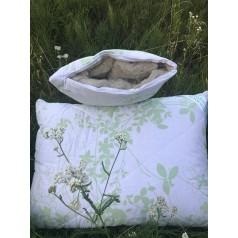 Подушка з лляним наповнювачем
