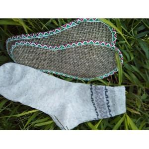 Конопляні устілки + конопляні шкарпетки