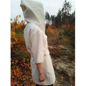 Халат жіночий лляний