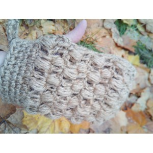 Масажна мочалка-рукавиця