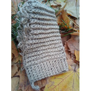 Мочалка-рукавиця для чутливої шкіри