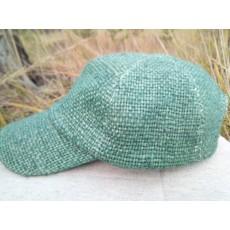 Конопляна кепка зелена
