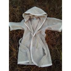 Конопляний халат з коноплі та шерсті