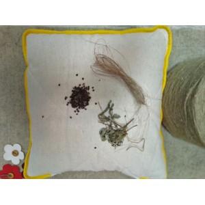 """Конопляна подушка з арома травами """"Спокійний сон"""""""