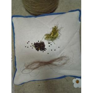 """Конопляна подушка з арома травами """"Релакс"""""""