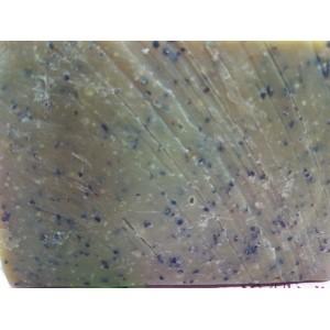 Конопляний скраб-мило з конопляним волокном та висівками