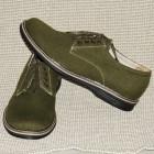 """Чоловічі туфлі """"Комфорт зелений"""""""