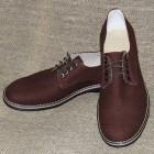 """Чоловічі туфлі """"Комфорт бордовий"""""""