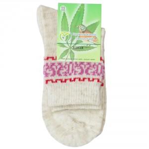 Шкарпетки конопляні жіночі